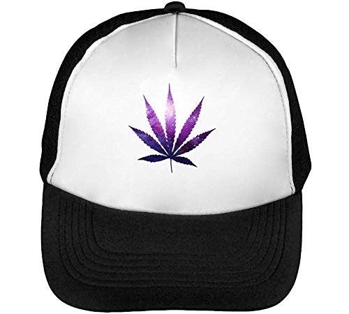 Enjoy Leaf Cannabis Snapback Negro Gorras Beisbol Weed Theme Graphic Hombre Blanco Collection Aqn5UwFI54