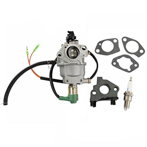 - HURI Carburetor with Gasket Spark Plug for Titan TG6500 TG7500M TG8000 TG8500 Gasoline Generator