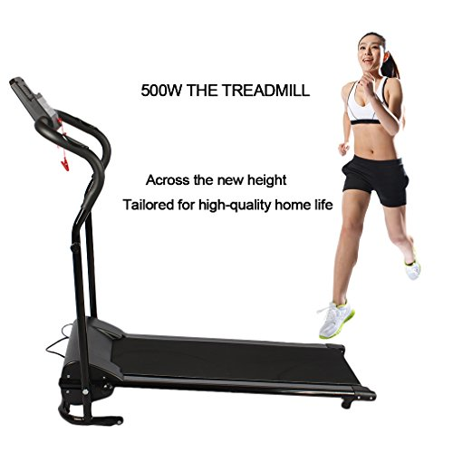 Kingpeony 500W Running Training Fitness Electric Treadmill Running Machine Portable Folding Electric Motorized Treadmill
