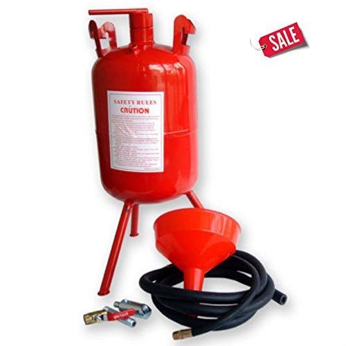 Portable Air Sandblaster 5 Gallon Air Media Abrasive Blasting Tank Sand Blaster Durable - Skroutz by Unknown