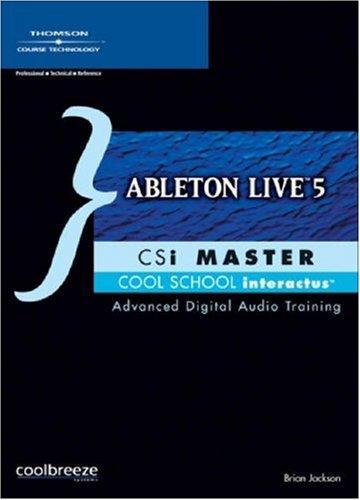 Ableton Live 5 CSi Master - Rom Csi Cd Master