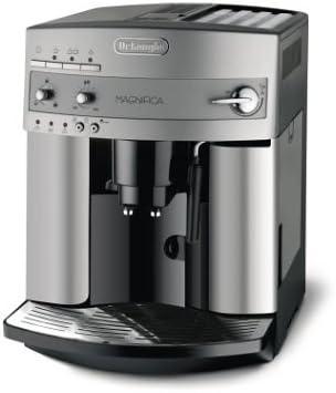 DeLonghi Magnifica ESAM 3200.S Independiente Totalmente automática Máquina espresso 1.8L 2tazas Plata - Cafetera (Independiente, Máquina espresso, 1,8 L, Molinillo integrado, 1450 W, Plata): Amazon.es: Hogar