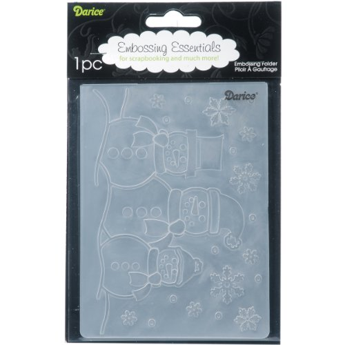 Darice 1215-57 Embossing Folders, 4.25 by 5.75