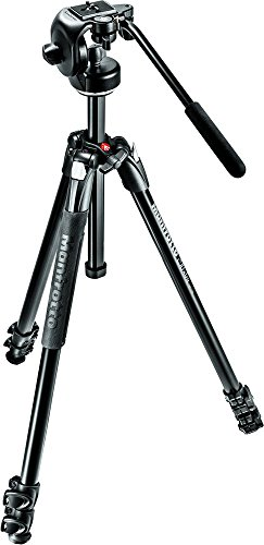 Manfrotto MK290XTA3-2WUS 290 Xtra Fluid Video Head Kit (Black)