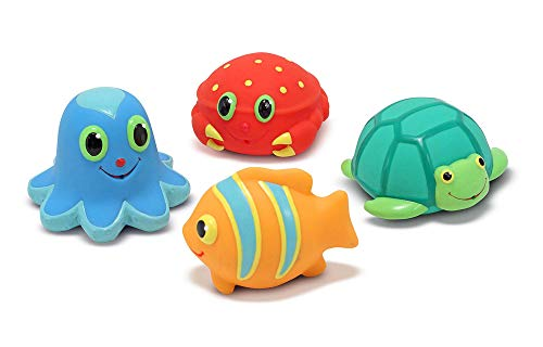 Seaside Sidekicks Squirters - Sea Creature Water Toys - Ages 6+ Months (Squirters Sidekicks Seaside)