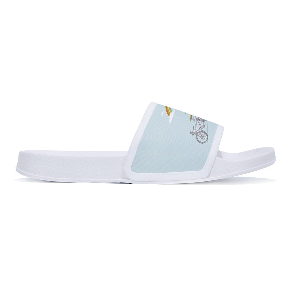 CoolBao Slides Sandals for Boys Girls Anti-Slip Swim Shower Pool Slippers (Little Kid/Big Kid) by CoolBao (Image #2)