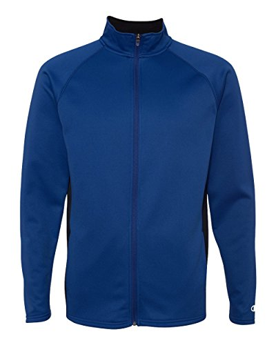 Champion Double Dry Men`s Colorblock Full Zip Jacket