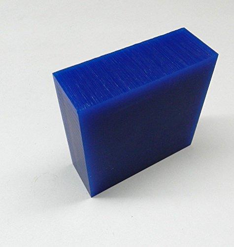 Blue Wax Block - FERRIS CARVING WAX BLOCK BLUE 1/2 POUND JEWELRY WAX WORKING WAX MODEL DESIGN