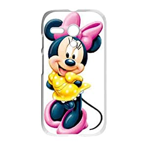 Disney Mickey Mouse Minnie Mouse Motorola G Cell Phone Case White persent xxy002_6860260
