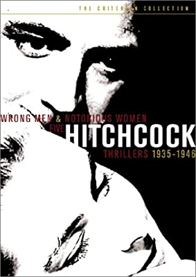Wrong Men & Notorious Women: Five Hitchcock Thrillers, 1935-1946 (The 39 Steps / The Lady Vanishes / Rebecca / Spellbound / Notorious) (The Criterion Collection)