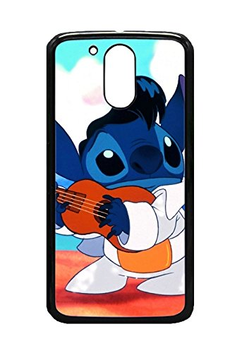 Gearldine Jones (TM) Design HOT Selling Lilo Stitch Phone Case for Motorola Moto G4 Best TPU Case