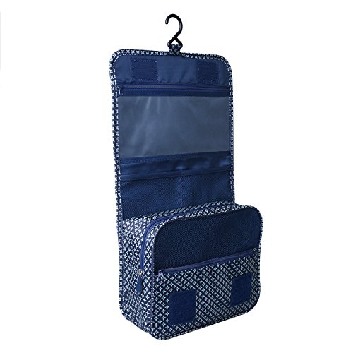 Heavy Duty Waterproof Hanging Toiletry Bag - Travel Cosmetic Makeup Organizer Bag for Women Girls Children Multifunction Travel Kit by Hokeeper (Image #5)