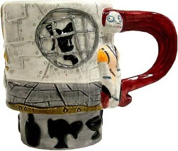 Amazon.com | Nightmare Before Christmas Ceramic Sally Mug 2001 ...