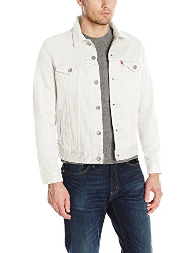 Levi's Men's The Trucker Jacket, Steel Hour, M