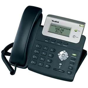 Yealink T20P - Teléfono (Escritorio, Negro, Digital, Poder, Si, LCD, 3 líneas)