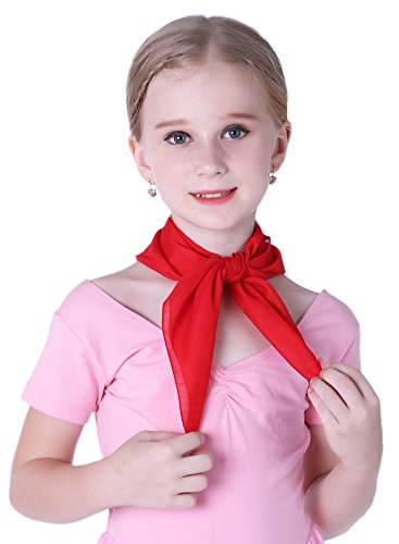 Mime Costume Kids Red Scarf 50s for Kids