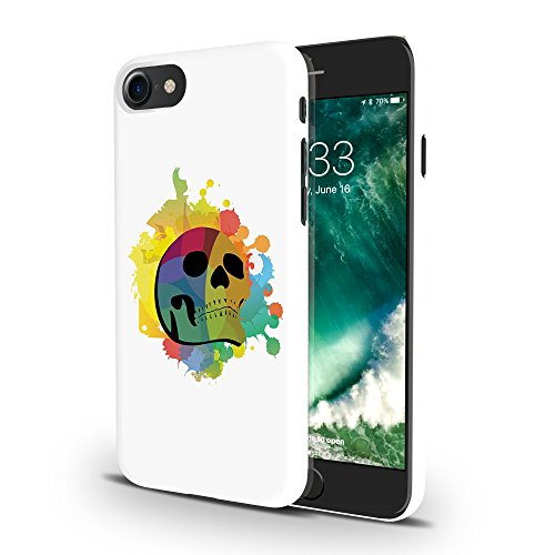 Koveru Back Cover Case for Apple iPhone 7 - Colored Skull
