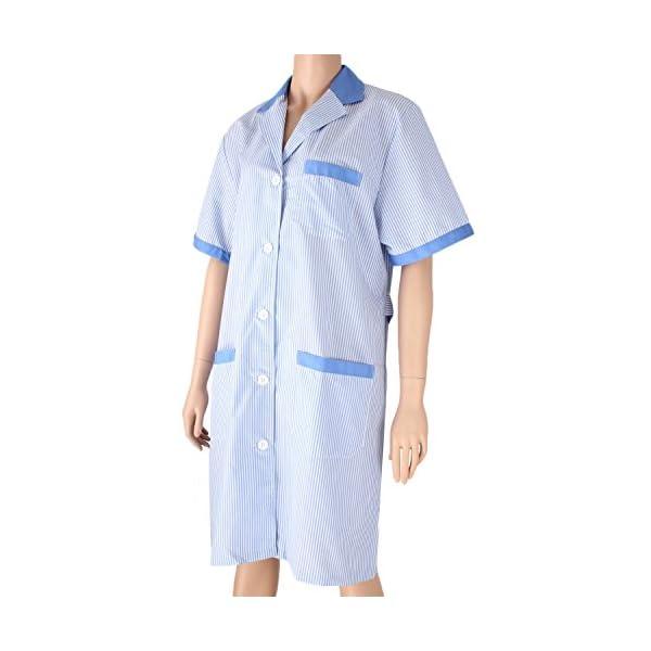 Misemiya Batas Laboratorios Túnica de Enfermería 3