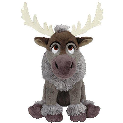 Ty Inc Beanie Baby Plush Stuffed Animal Sven - The Reindeer (Stuffed Reindeer Toy)