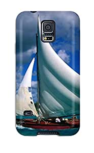 New Style Tpu S5 Protective Case Cover/ Galaxy Case - Fishing Sailboat Dominican Republic