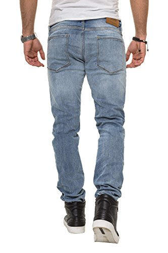 amp; Blue Jones Jack Denim Jeans Uomo Slim ZxpAqXd
