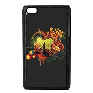iPod Touch 4 Case Black Music Festival Tgdql