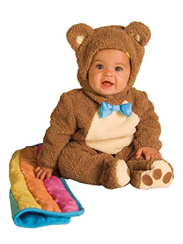 Cute Mommy And Baby Halloween Costumes (Rubie's Infant Noah Ark Collection Oatmeal Bear Jumpsuit, Brown/Beige, 12-18)