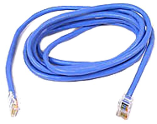 (Belkin RJ45 CAT 5e Snagless Molded Patch Cable (14 Feet, Blue))