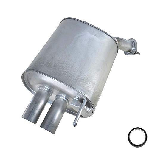 Rear exhaust muffler with dual tailpipes fits: 2005-2006 G35X sedan AWD ()