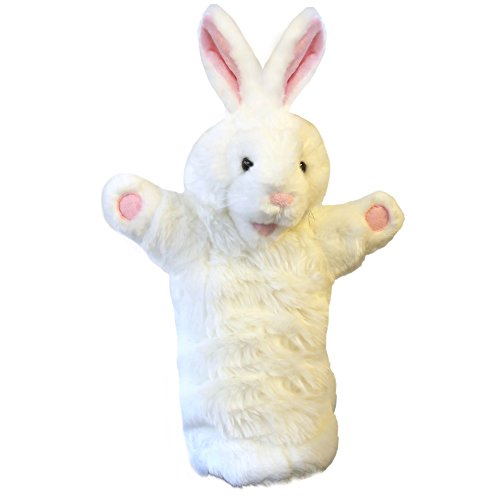 The Puppet Company Long-Sleeves White Rabbit Hand Puppet