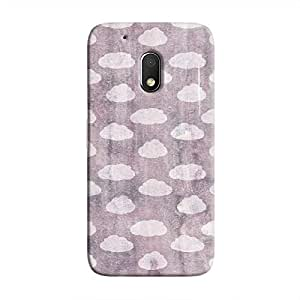 Cover It Up - Clouds Violet Sky Moto G4 Play Hard Case