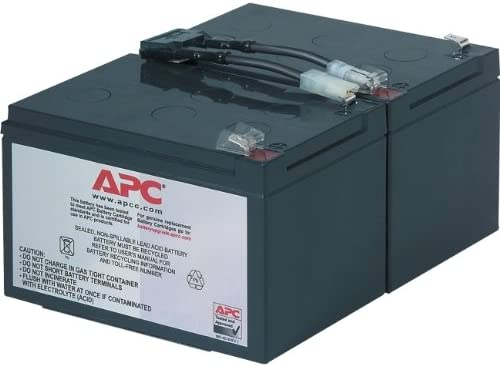 Maintenance-free Lead Acid Hot-swappable APC Replacement Battery Cartridge #6 UPS REPLACEMENT BATTERY RBC6 UPS-B