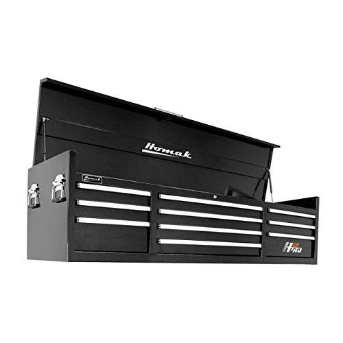 2-Inch 10-Drawer Top Chest, Black ,BK02010720 ()