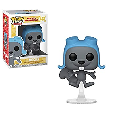 Funko Pop Animation: Rocky & Bullwinkle - Flying Rocky Collectible Figure, Multicolor: Toys & Games