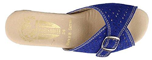 Worishofer Womens 251 Sandal Blue Snake