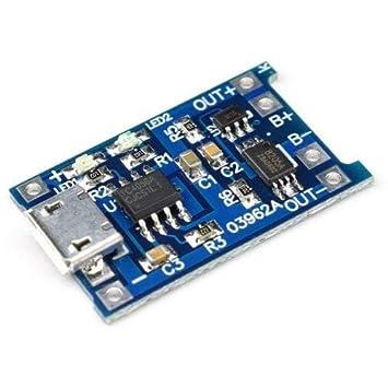 Bazaar Miller ML-102 V9.0 Universal-USB-Smart-Ladeger/ät f/ür 18650 Li-Ionen-Akku