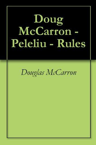 Doug McCarron - Peleliu - Rules