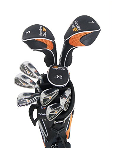 Founders Club The Judge Mens Complete Golf Club Package Set for Men with Graphite and Steel and Stand Bag For Right Hand by Founders Club (Image #1)