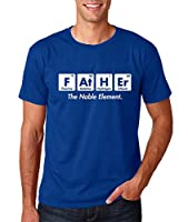 AW Fashion's Father the Noble Element- Gift For Dad Funny Chemistry Elements Men's T-Shirt