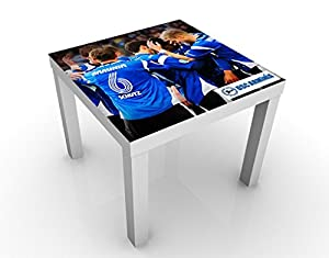 Apalis 50417–295856 Design Table DSC Arminia Bielefeld Jubel, 55 x 55 x 45 cm, Multicolore, 45x55
