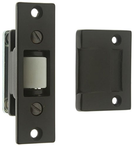 IDHBA idh by St. Simons 12017-10B Premium Quality Solid Brass Heavy Duty Silent Roller Latch with Adjustable Square Strike, Oil-Rubbed Bronze from IDHBA