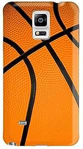 Stylizedd Samsung Galaxy Note 4 Premium Slim Snap case cover Matte Finish - Basketball