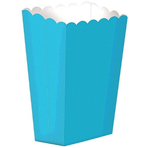 Strand Popcorn (Party Ready Large Popcorn Favour Box, Caribbean Blue, Paper, 7