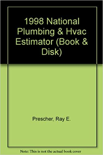 national plumbing and hvac estimator 1998 book disk ray e prescher 9781572180505 amazoncom books