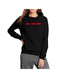 Pupkitten Casual Sweaters Woman Long Sleeve Premium Glastron-Logo-red- Wool Warm Family Pullover Hoodies