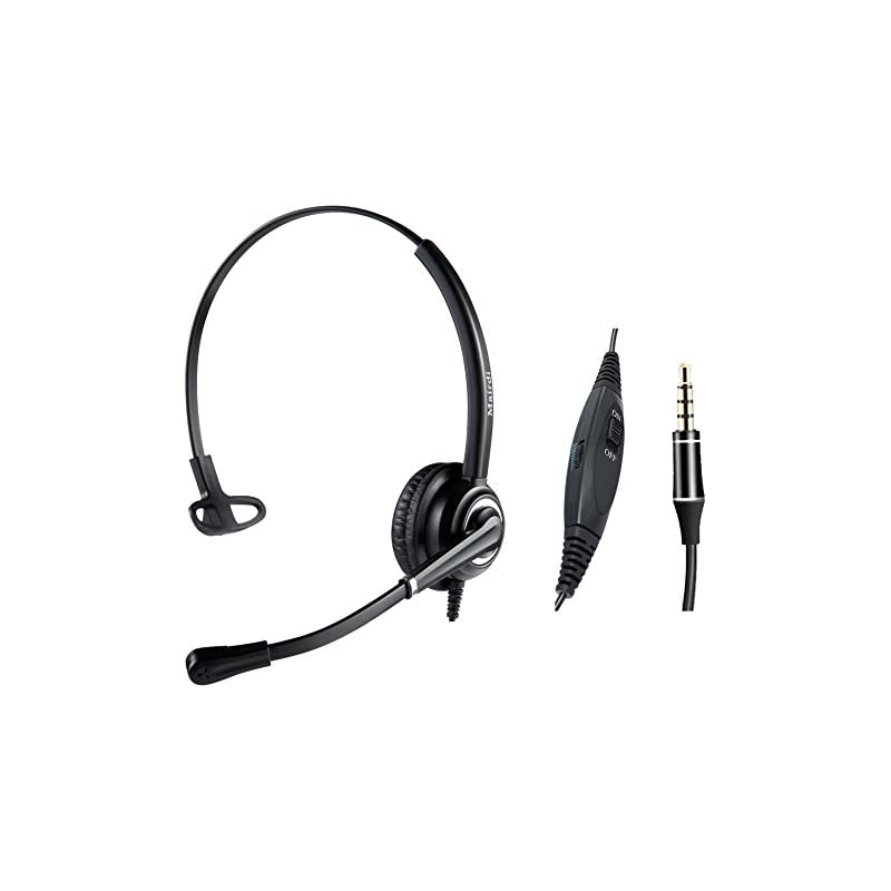 MAIRDI Mobile Phone Headset with Nosie C