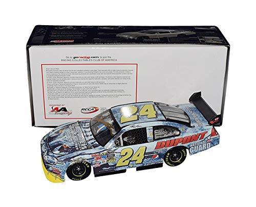 (AUTOGRAPHED 2009 Jeff Gordon #24 DuPont Racing TRANSFORMERS MOVIE (Hendrick Motorsports) Sprint Cup Series Custom Signed Collectible Action 1/24 Scale NASCAR Diecast Car with COA (Custom-Made 1 of 1))