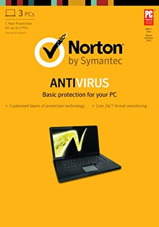 Norton Antivirus 2013 - 1 User / 3 PC [Download]