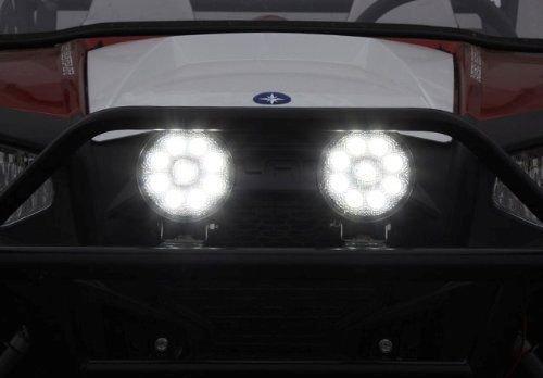 GZYF 8PCS 27W LED Work Light Lamp Bar Round Flood Beam Offroad For Truck Car Boat SUV 4WD UTE ATV 4X4 12V 24V by GZYF (Image #7)