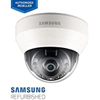 Samsung SND-L6013R 1080p Full HD, 3.6mm Fixed, Night View with IR LEDs, PoE Security Network Dome Camera (Manufacturer Refurbished)